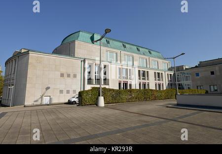 Philharmonic concert hall, avenue Huyssen, food, North Rhine-Westphalia, Germany, Philharmonie, Huyssenallee, Essen, - Stock Photo