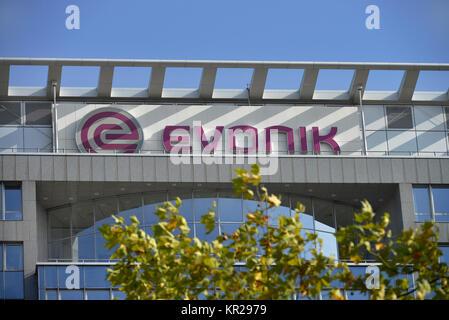 Evonik company headquarters, Rellinghauser street, food, North Rhine-Westphalia, Germany, Evonik Firmensitz, Rellinghauser - Stock Photo