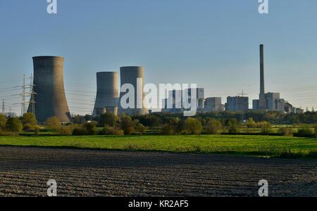 RWE Power station Westphalia, Hamm, North Rhine-Westphalia, Germany, RWE Kraftwerk Westfalen, Nordrhein-Westfalen, Deutschland