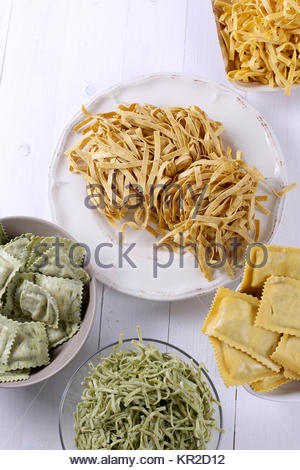 Handmade pasta - Stock Photo