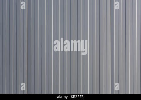 silver color metal end wall - Stock Photo