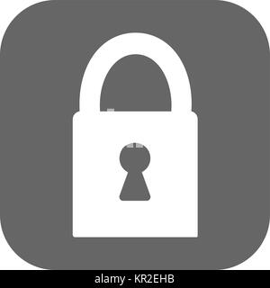 lock. - Vector icon - Stock Photo