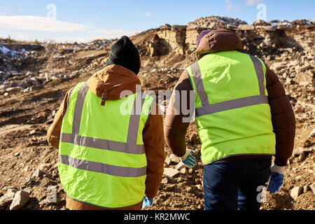 Miners in Alaska - Stock Photo