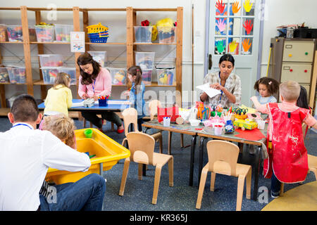 A Day in a Nursery - Stock Photo