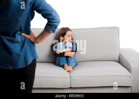 Bad behavior punishment - Stock Photo