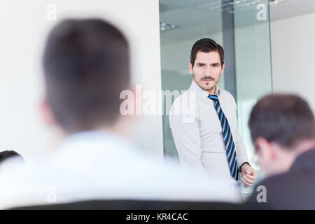 Business team office meeting. - Stock Photo
