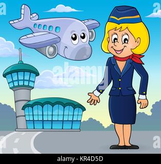 Aviation theme image 2 - Stock Photo
