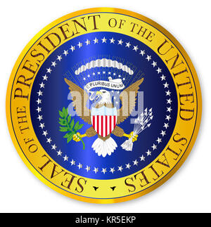 Presedent Seal Depiction - Stock Photo