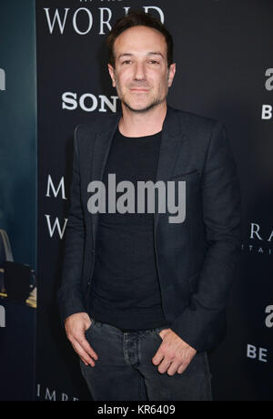 Los Angeles, USA. 18th Dec, 2017. Bryan Fogel attends the premiere of Sony Pictures Entertainment's 'All The Money - Stock Photo