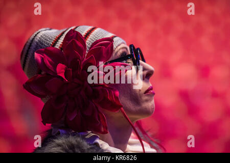 London, UK. 19th December, 2017. Clowns, the Chervotkins Duo - The Moscow State Circus returns to Ealing Common - Stock Photo