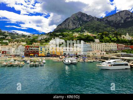 Capri island, Italy, near Naples.