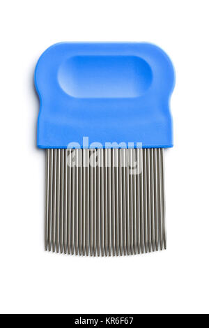 Comb for combing out lice. - Stock Photo