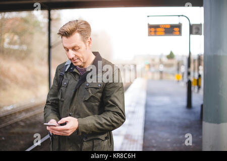 Catching the train - Stock Photo