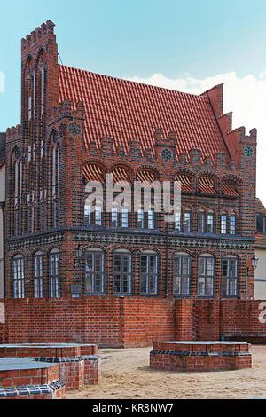 archidiakonat in wismar - Stock Photo