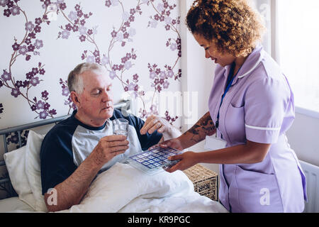 Daily Dose of Medication - Stock Photo
