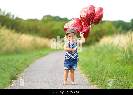 barefoot through the summer - Stock Photo