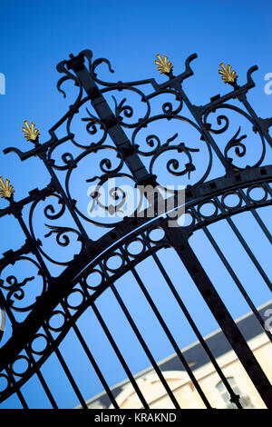 Gate of a mansion