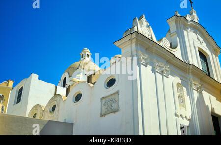 Chiesa di Santa Sofia, Anacapri, Capri - Stock Photo