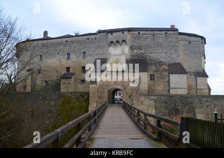 Tittmoning (Bavaria, Germany): The historical Castle - Stock Photo