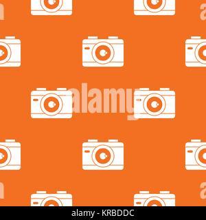 Photo camera pattern seamless - Stock Photo