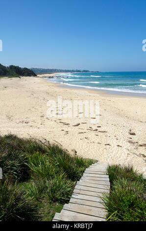 Blackfellows Beach, Potato Point, New South Wales, Australia - Stock Photo