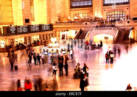 Busy Grand Central Terminal - Stock Photo