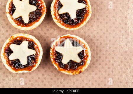 Mice Pies with Copy Space - Stock Photo