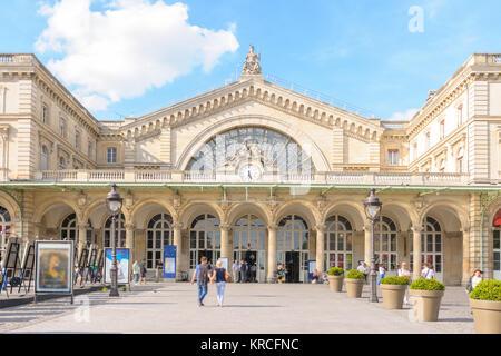 Gare de l'Est, Eastern railway station - Stock Photo