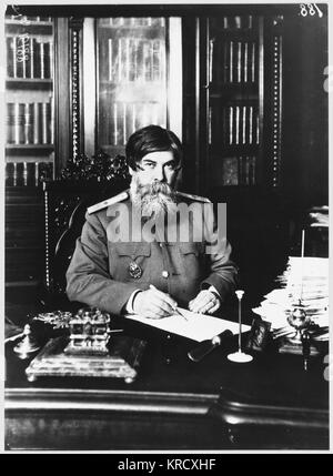 VLADIMIR MIKHAILOVICH  BEKHTEREV Russian neurologist, wearing  uniform reflecting his status  in the Soviet medical - Stock Photo