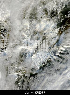 Grimsvotn volcano - Stock Photo