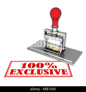 exclusive beautiful stamp isolated on white background - Stock Photo