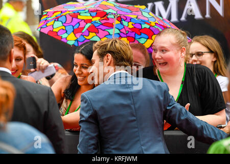 "Sydney, Australia - 20th December 2017: VIP's and Celebrities arrive at the Star Casino ahead of ""The Greatest Showman"" - Stock Photo"