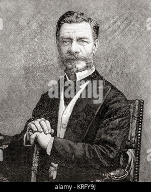 Sir Richard Temple II, 1st Baronet, 1826 – 1902.  Seen here aged 68.  Administrator in British India and a British - Stock Photo