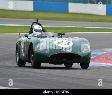 Barry Wood, Will Nuttall, RGS Atalanta, Royal Automobile Club, RAC, Woodcote Trophy, pre-56 sports cars, Donington - Stock Photo