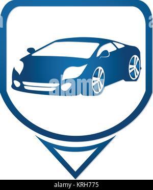 Sports Car Icon Symbols Stock Photo 169270254 Alamy