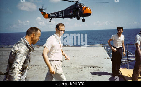 Shepard on Deck of Champlain after Recovery - GPN-2000-001362 - Stock Photo