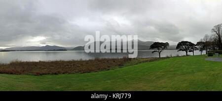 Stunning view from a golf course - Stock Photo