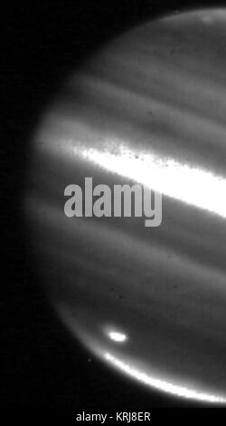 Jupiter 2009-07-20 comet impact infrared photo - Stock Photo