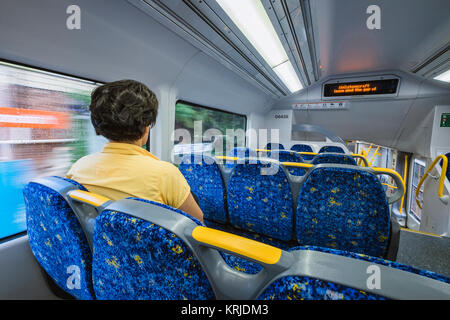 waratah train interior in sydney new south wales nsw australia stock photo 169436232 alamy. Black Bedroom Furniture Sets. Home Design Ideas