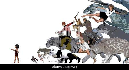 Story Book for Children Illustration - Stock Photo