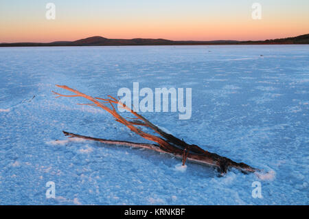 Lake Gairdner, Gawler Ranges, South Australia (SA), Australia - Stock Photo