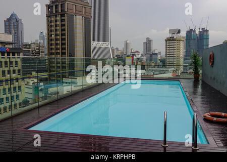 Kuala lumpur hotel rooftop swimming pool