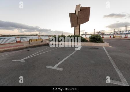 Marsaxlokk Harbor where US President George H. W. Bush and Soviet leader Mikhail Gorbachev met for peace talks on - Stock Photo