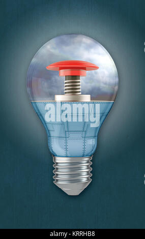 concept of danger - Stock Photo