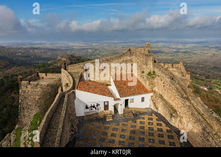 Superior Photographed From The Old Military Fortress Marvão. Portugal.   Stock Photo Nice Look