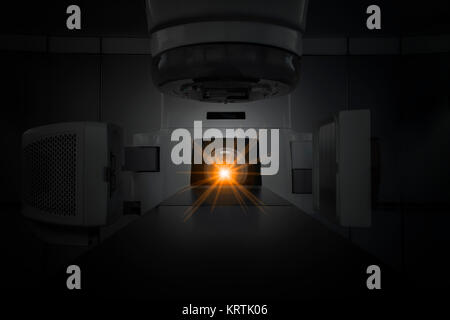 medical linear accelerator in therapeutic oncology - Stock Photo
