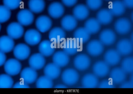 Abstract blue dots as photographic backdrop or background. - Stock Photo