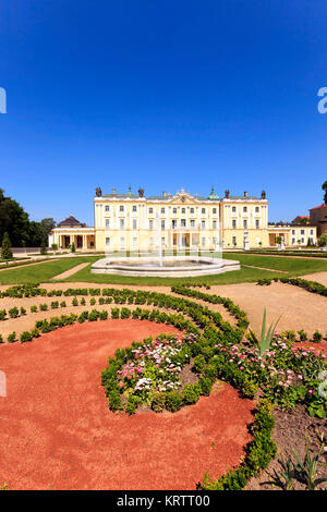 Palace of Bialystok. Poland - Stock Photo