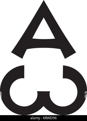 Ancient Christian Sacral Monogram of The Biblical sentence: «I am Alpha and Omega, the Beginning and the End, the - Stock Photo