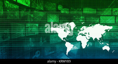 Global Business Concept - Stock Photo